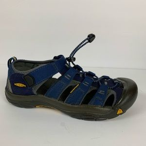 KEEN Youth Boys or Girls Newport H2 Blue Sandals